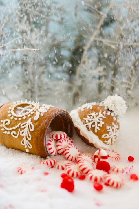 mini gingerbread house ideas