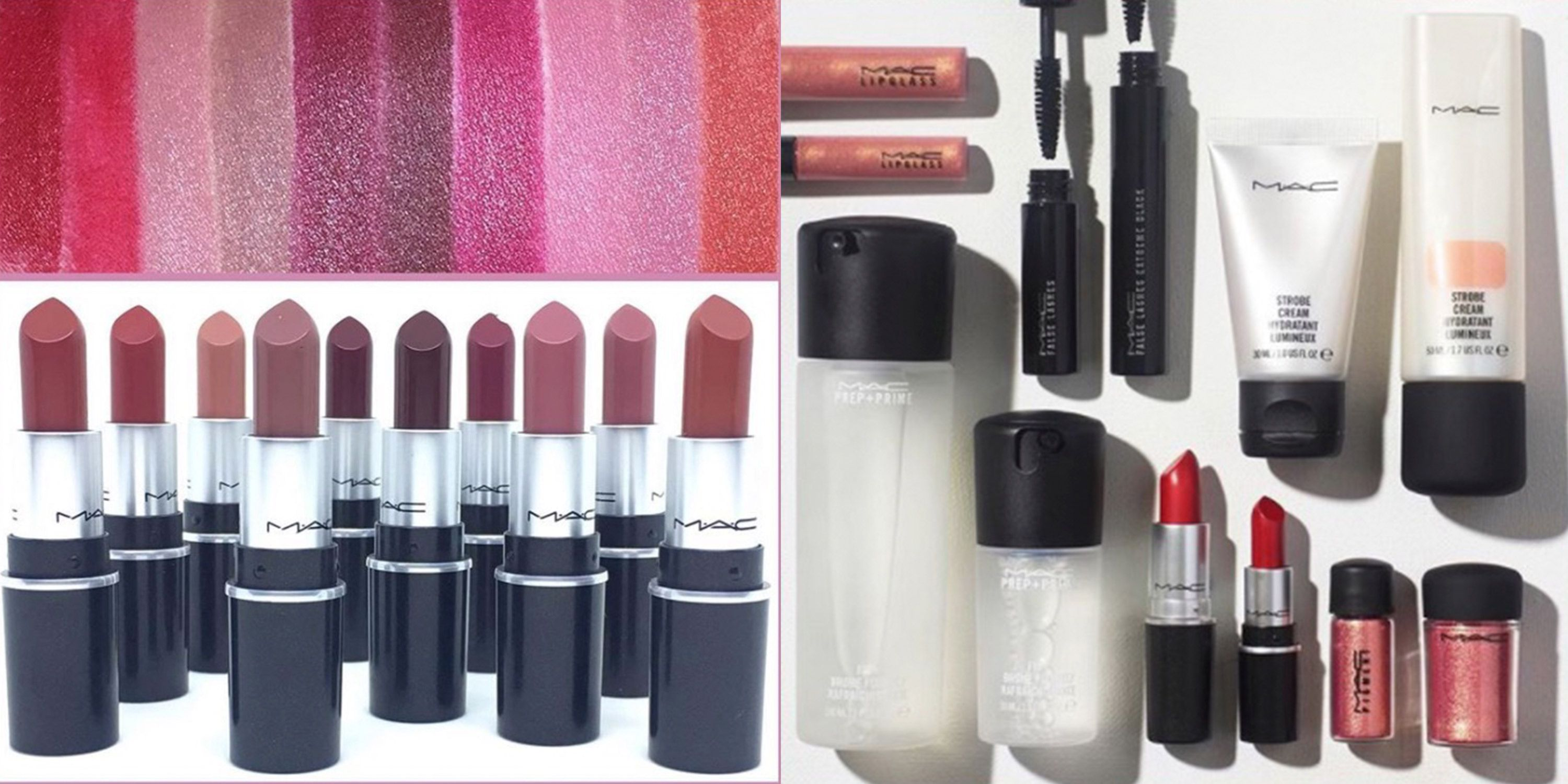 MAC is launching mini versions of their best-selling makeup products
