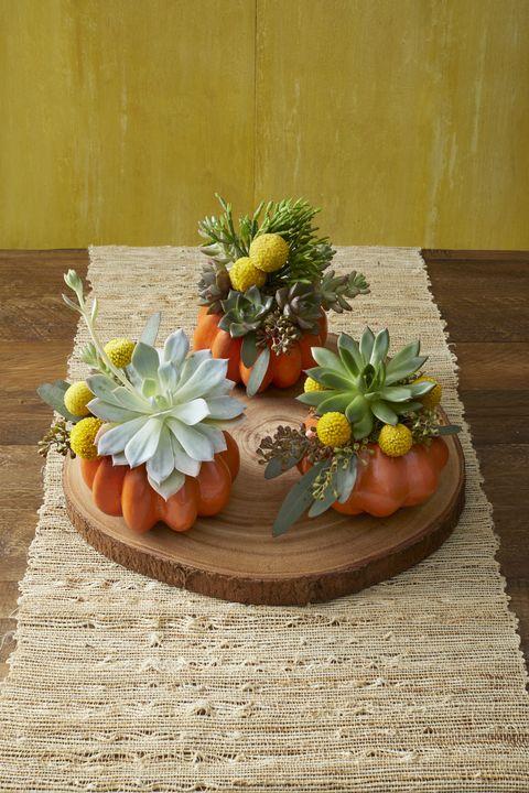 mini pumpkin bouquets autumn flower arrangement