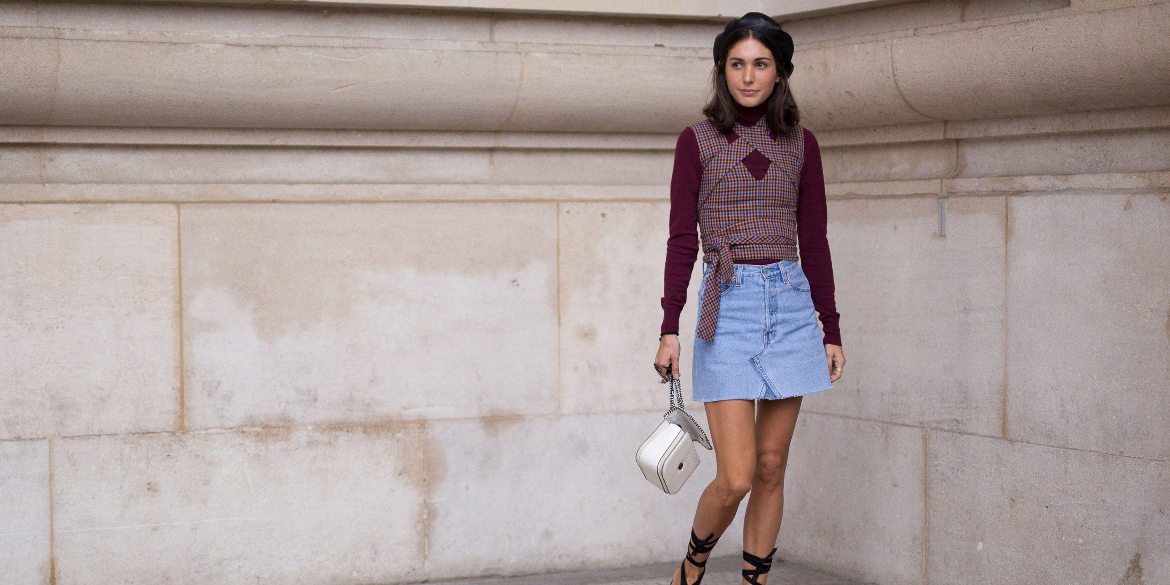 def95a5c386 How to wear a mini skirt – Mini skirt fashion trend 2017