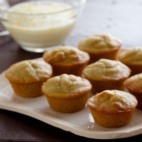 Gluten-Free Mini Avocado Spice Cupcakes