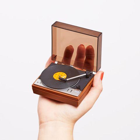 Mini tocadiscos
