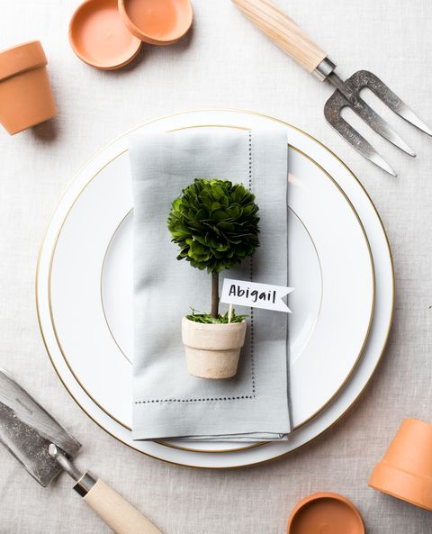 mini-topiary-place-cards-entertaining-veranda