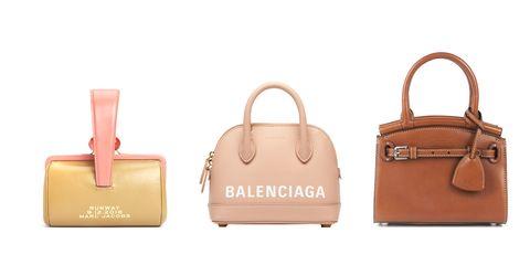 Handbag, Bag, Product, Fashion accessory, Pink, Brown, Leather, Birkin bag, Beige, Tote bag,