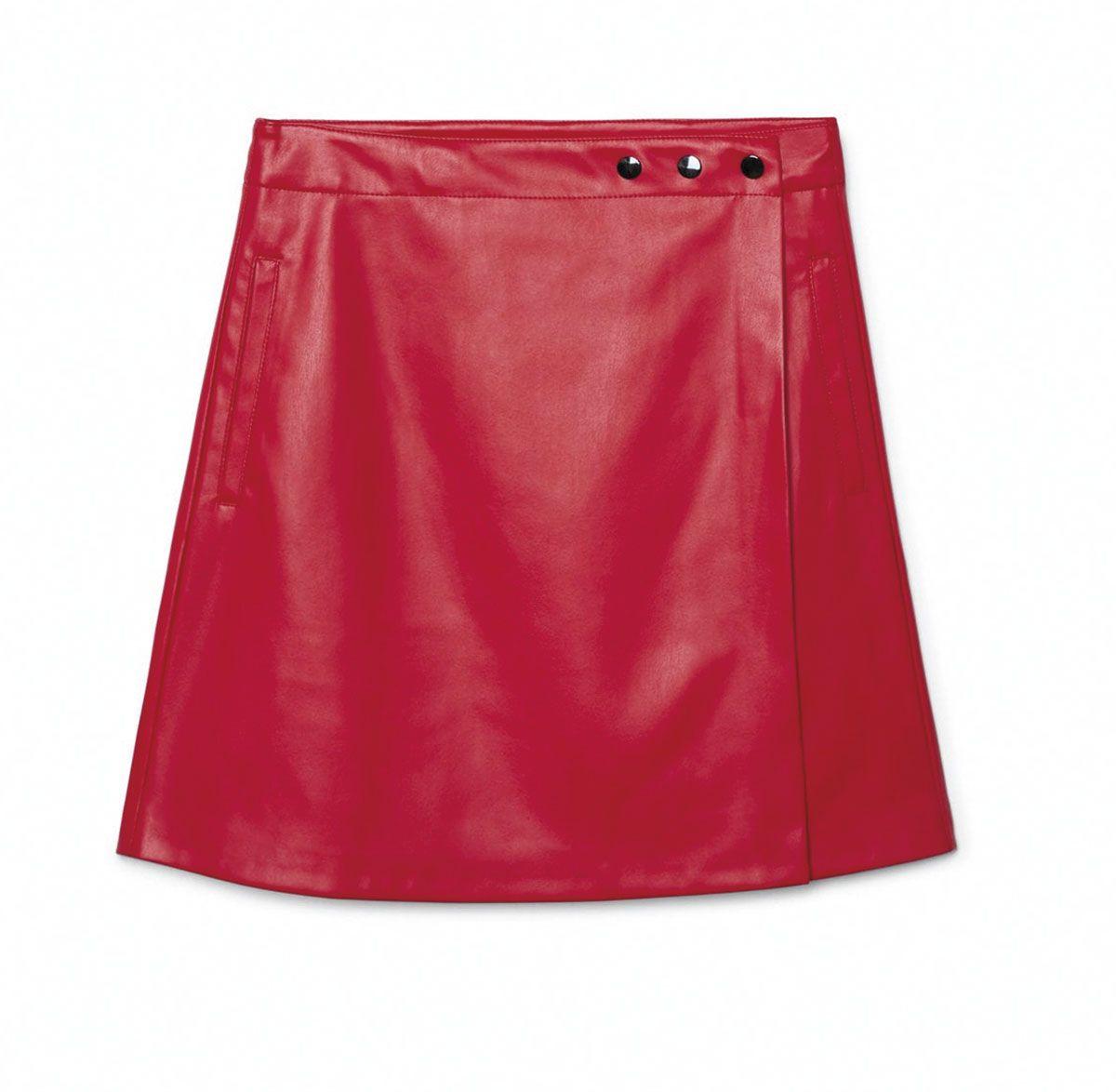 Prendas moda color rojo