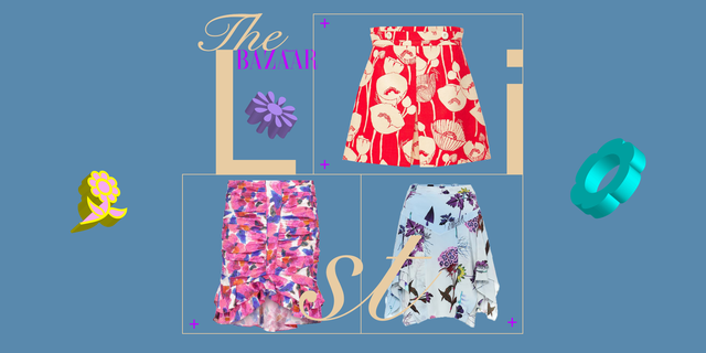 minigonne fiori estate 2021