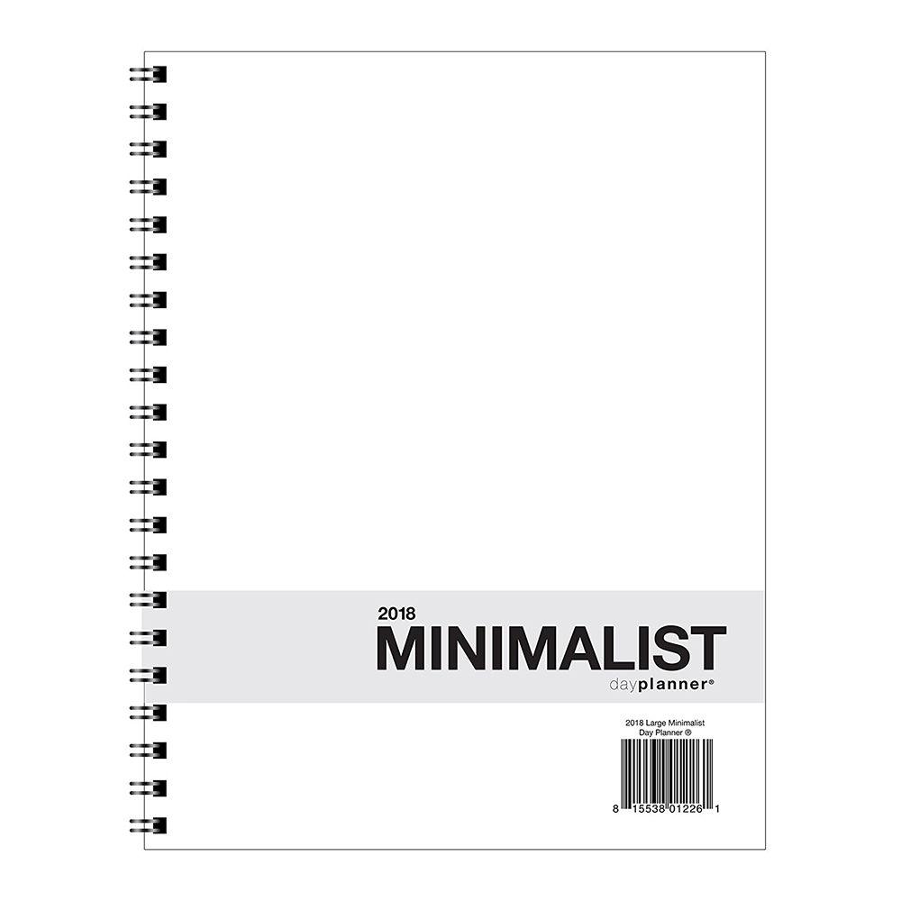 Action Publishing 2018 Large Minimalist Planner
