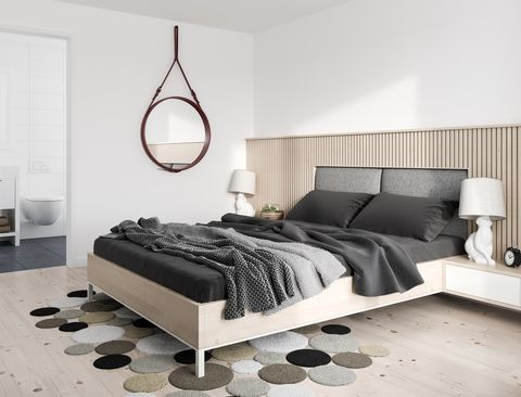 Minimalist modern bedroom