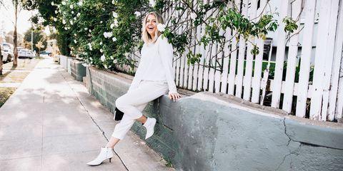Lindsay Albanese minimalist style wardrobe