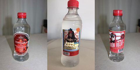 Bottle, Drink, Water bottle, Product, Plastic bottle, Glass bottle, Distilled beverage, Liqueur, Label, Vodka,