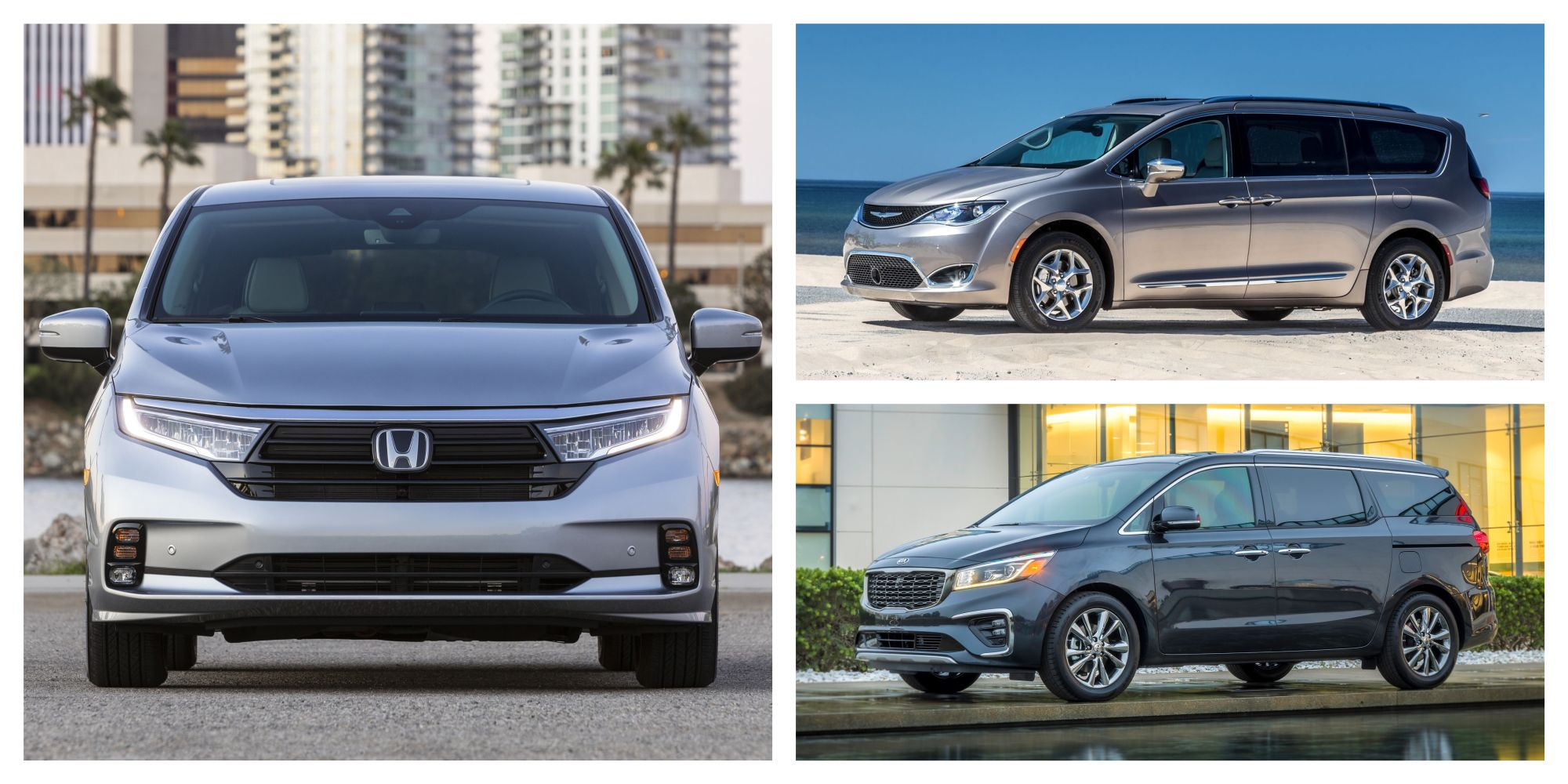 top 3 new minivans