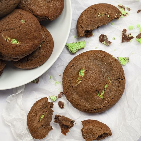 best biscuit and cookie recipes mint aero chocolate cookies