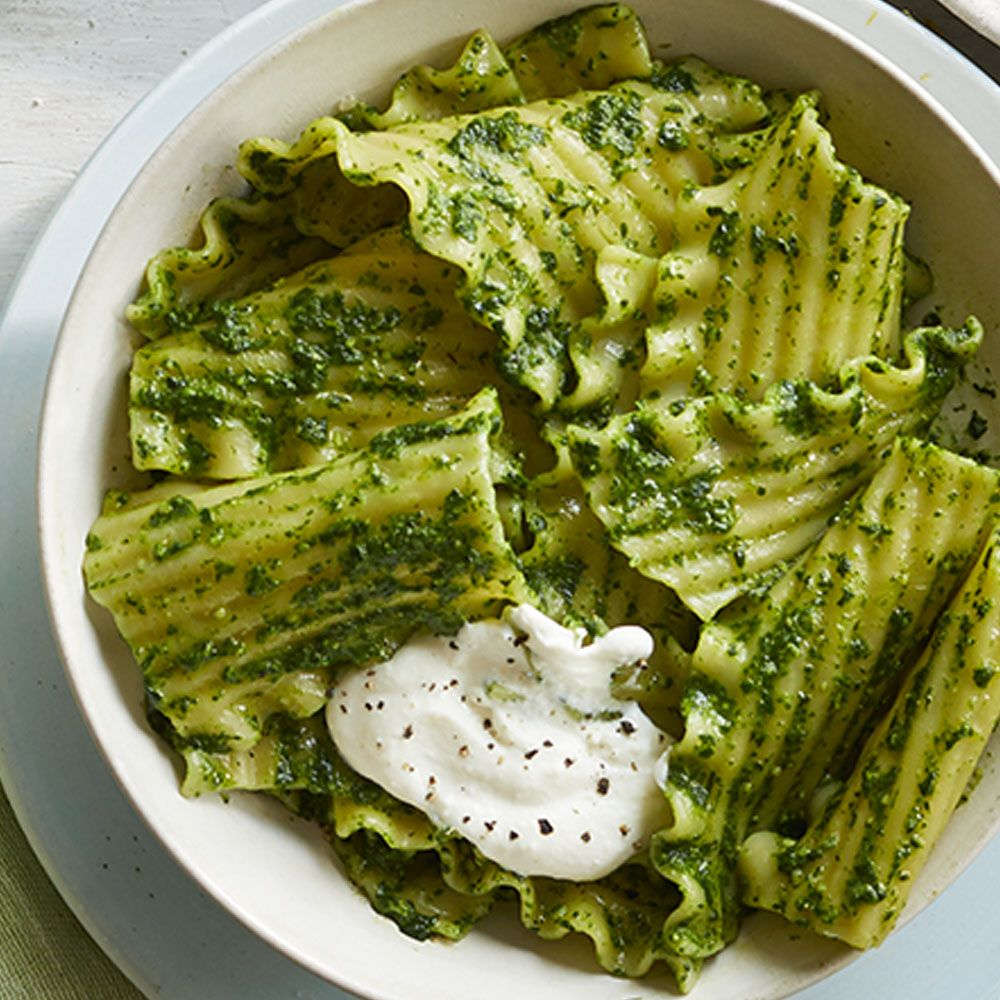 Mint And Walnut Pesto Lasagna Noodles Recipe How To Make Mint And Walnut Pesto Lasagna Noodles