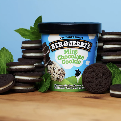mint chocolate cookie