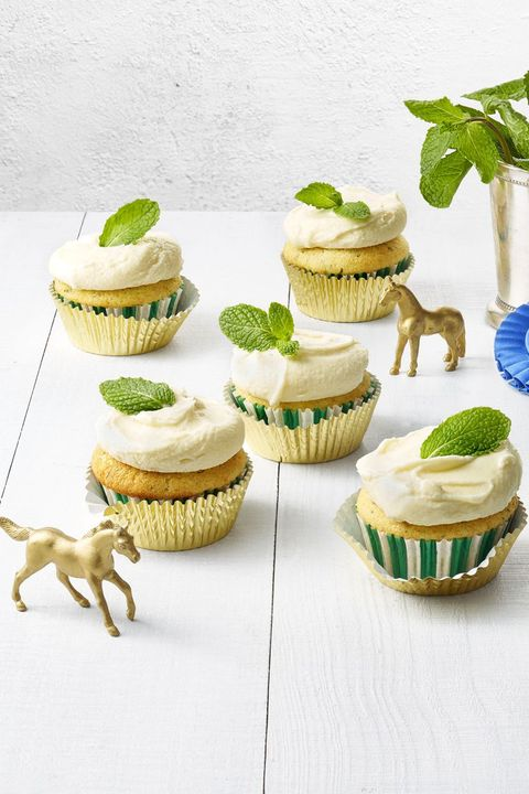 Mint Julep Cupcakes - Easter Cupcakes