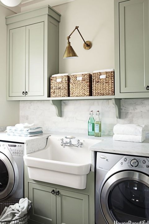 15 Small Laundry Room Ideas Small Laundry Room Storage Tips