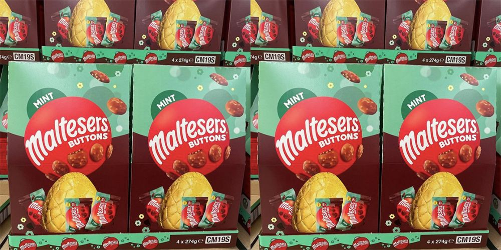 Mint Maltesers Easter Eggs Are Here To Tantalise Your Taste Buds