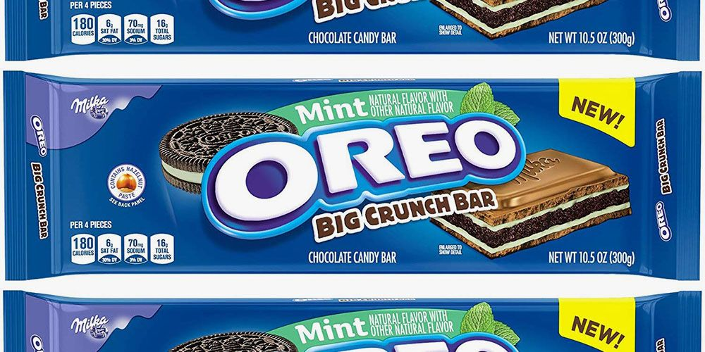 The Mint Oreo Big Crunch Bar Combines Chocolate And