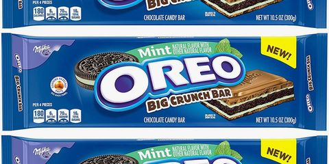 The Mint Oreo Big Crunch Bar Combines Chocolate and Cookies for the Ultimate Bite