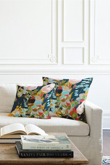 minted throw pillow