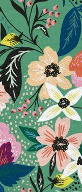 green, flower, pattern, plant, leaf, botany, illustration, design, wildflower, spring,