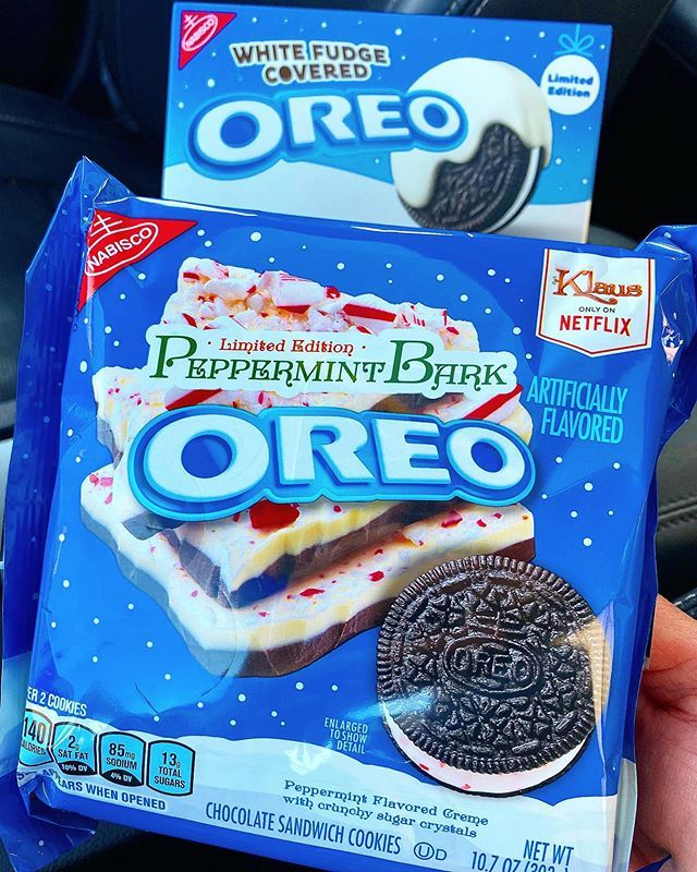 Peppermint Bark Oreos Are Finally Being Spotted Back In Stores