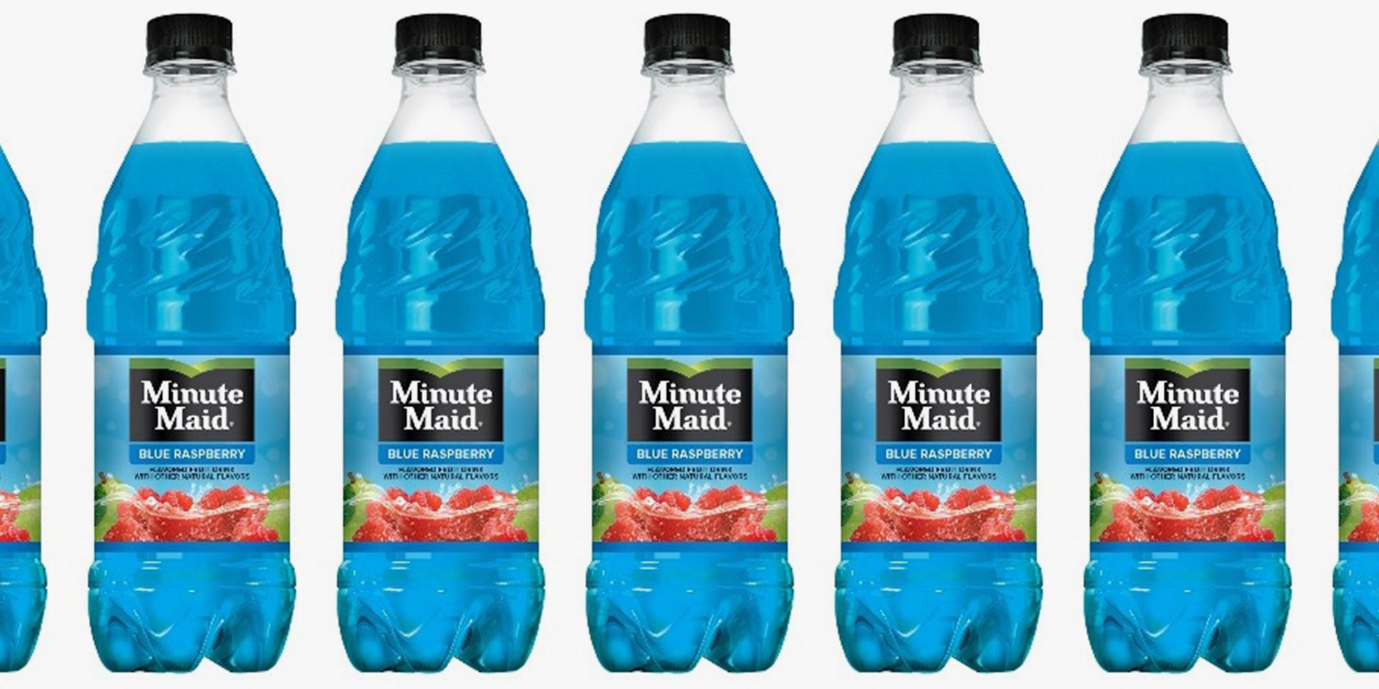 Minute Maid Has A New Blue Raspberry Flavor That Is Worthy Of A Springtime Sip