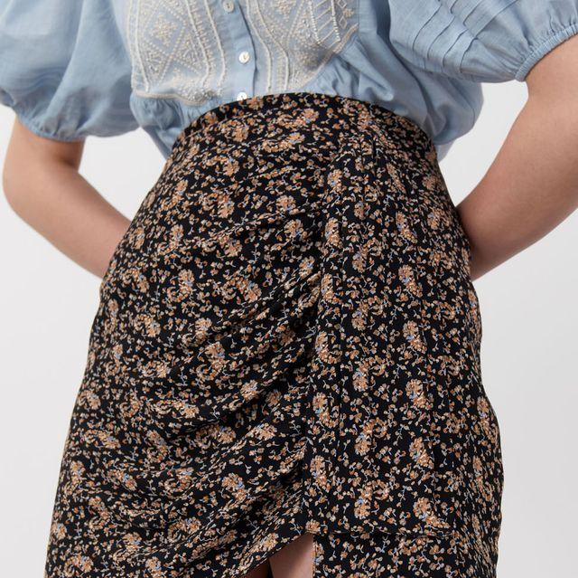 minifalda pareo de sfera