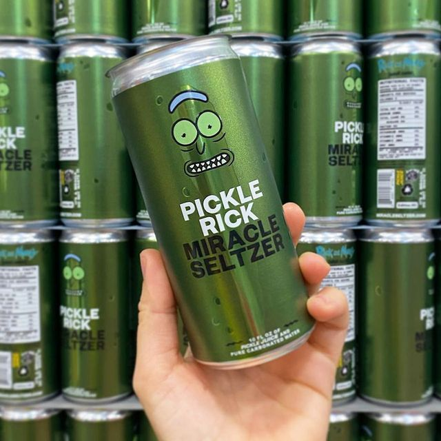 pickle rick miracle seltzer