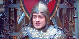 Daniel Radcliffe en la segunda temporada de 'Miracle Workers'