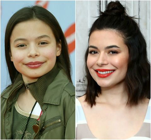 Miranda Cosgrove Then and Now