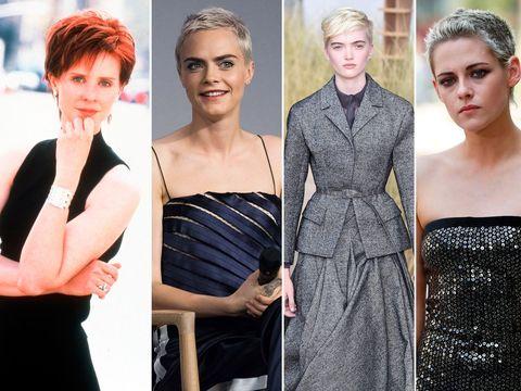 Hair, Clothing, Shoulder, Hairstyle, Dress, Beauty, Fashion, Skin, Fashion model, Lip,