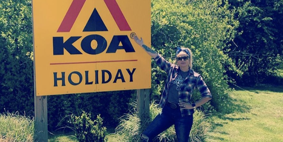 """Miranda Lambert Just Shared an Intimate Photo Update from Her """"Glamping"""" Trip with Her Husband"""