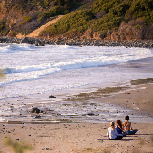 Body of water, Beach, Coast, Shore, Wave, Sand, Sea, Ocean, Water, Bay,