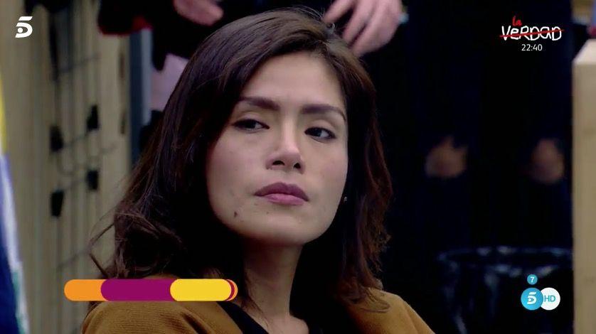 Miriam Saavedra vuelve a sacar de quicio a sus compañeros