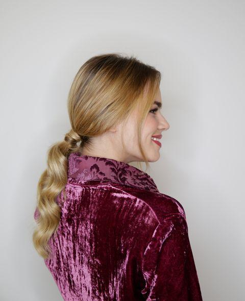 Mirian Perez Honey DressingElle Beauty Hair Day by Rowenta