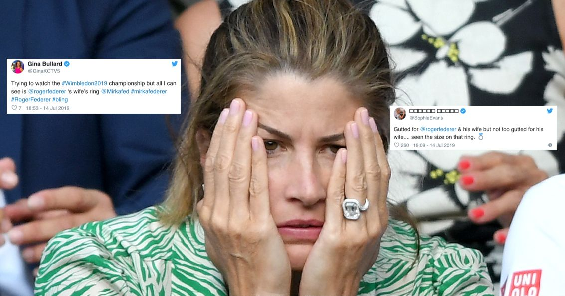 Best Twitter Reactions To Roger Federer S Wife S Engagement Ring