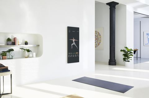 White, Interior design, Room, Floor, Furniture, Tile, Wall, Building, Design, Material property,
