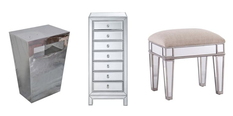 mirrored furniture - Mirror Furniture
