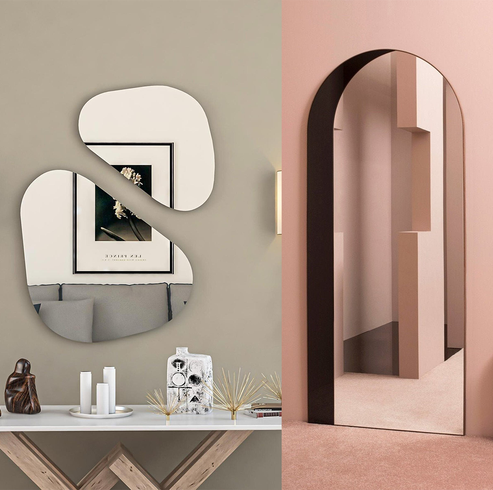 arsty and stylish mirrors for interior