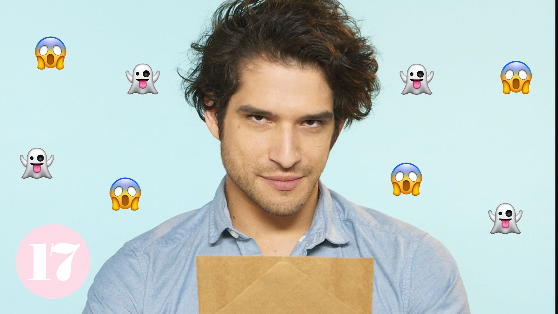 Tyler Posey Dramatically Reads Scary Af Stories And It S The Cutest Thing You Ll See All Day