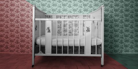Product, Furniture, Infant bed, Iron, Bed, Room, Bed frame, Baby Products, Metal,