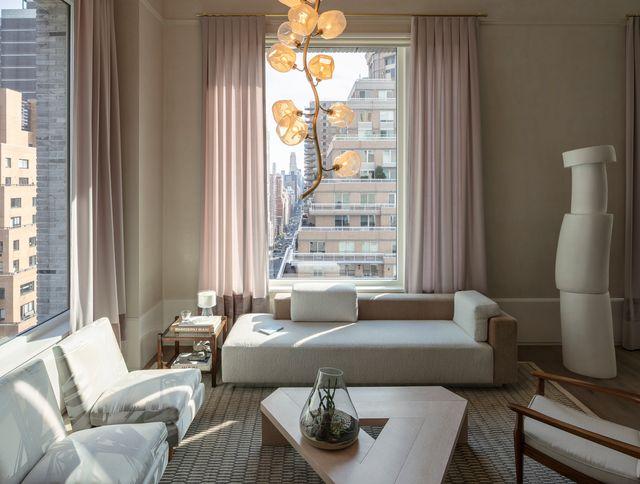 casa de lujo en nueva york del estudio mise scene design