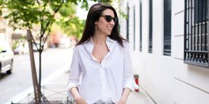 Perfect White Button-Down Shirt