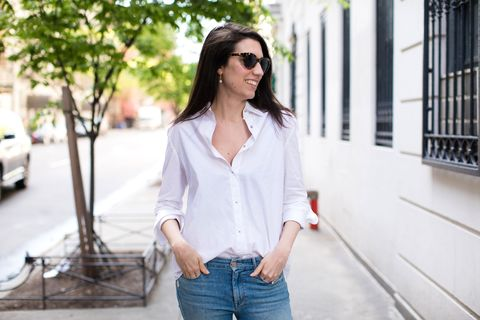 Perfect White Button-Down Shirt