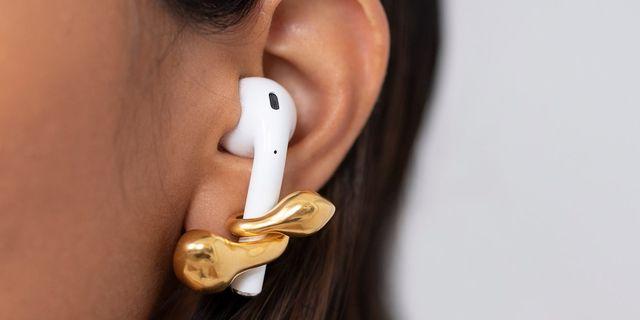 oorbellen, trend, airpods, draadloze oortjes, micho, sierraden