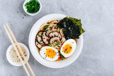 ramen soep met miso