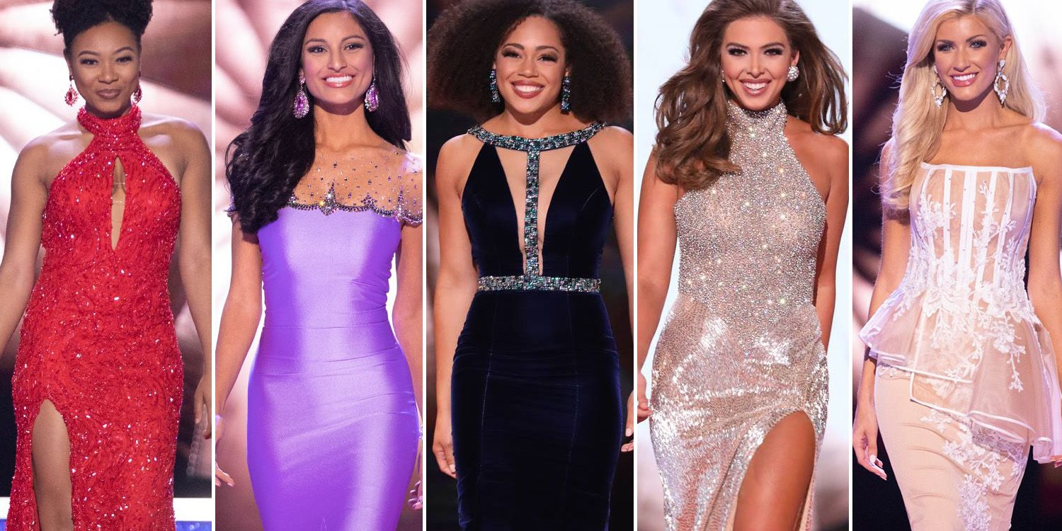 Miss America 2019 Evening Gown Photos – See Miss America Contestant