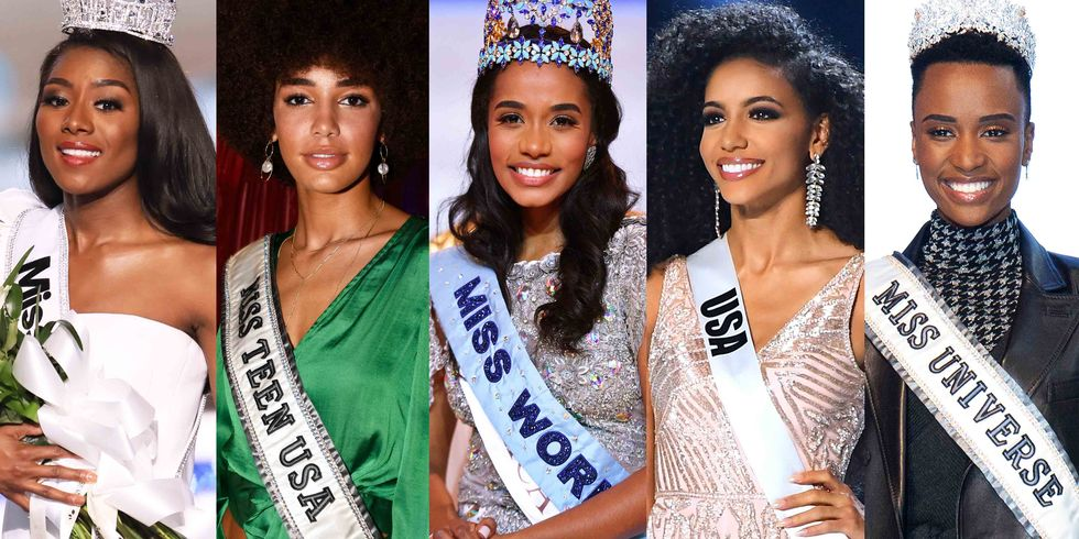 For the First Time Ever, Five Black Women Hold Crowns in the Five Major Beauty Pageants