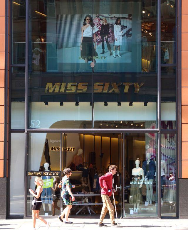 london, united kingdom   20190824 italian fashion brand miss sixty has it's store amongst the luxury brands in london's prestige shopping area in knightsbridge photo by keith mayhewsopa imageslightrocket via getty images